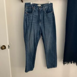 """Madewell """"the Mom"""" Jeans"""
